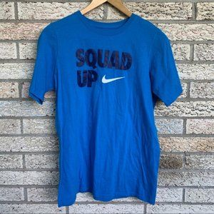 Nike blue casual active wears t shirt kids XL size